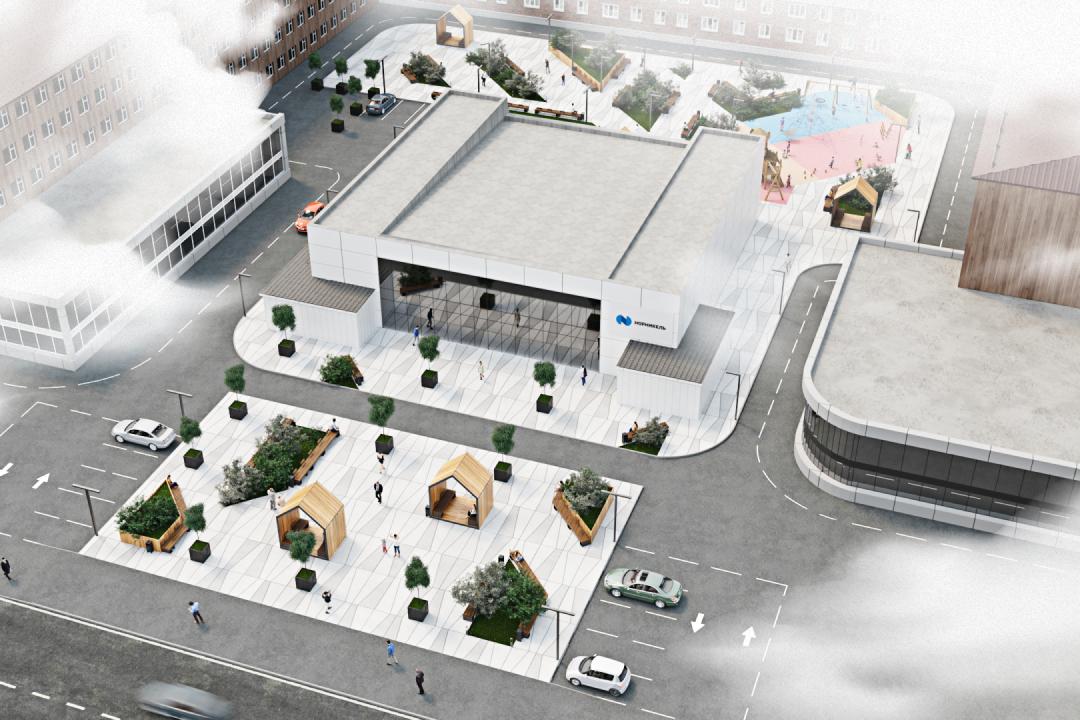 Дизайн городской среды для «Норникеля»
